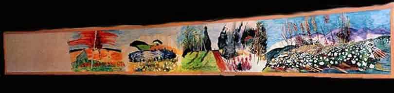 Hur Bollsta Folkets Hus fick sin akvarell